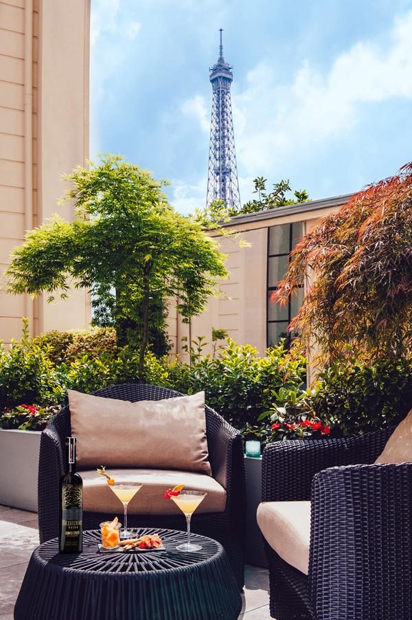 Terrasse Belvedere Shangri La Hotel Paris