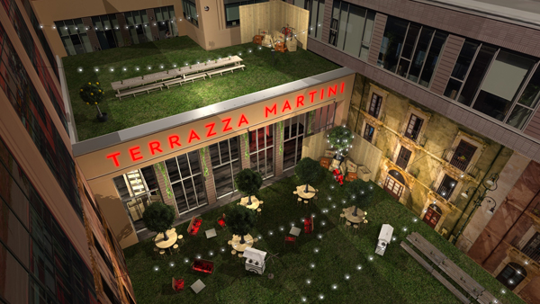 LA TERRAZZA MARTINI REVIENT CETTE SEMAINE A PARIS