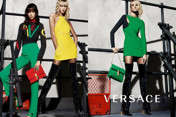 Nouvelle campagne Versace pour l'hiver