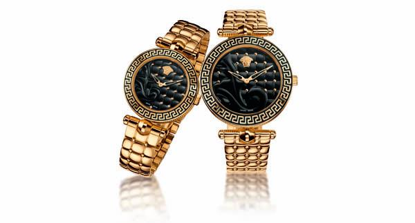 Coup de coeur (en images) pour les montres Versace