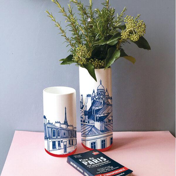 Vases Paris - Faïencerie Georges - NOU Design -hd