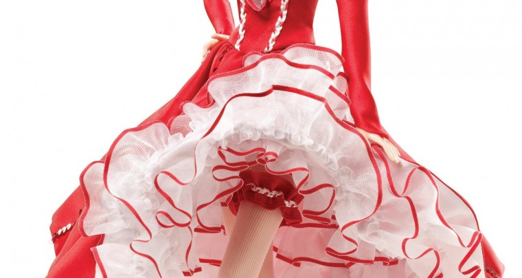 Barbie Moulin Rouge ... elle existe!