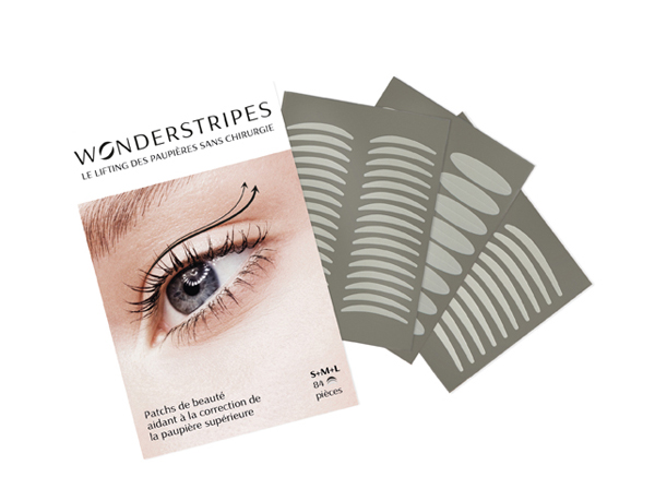 WONDERSTRIPES- Patchs paupières tailles SML – 84 pièces – 25€