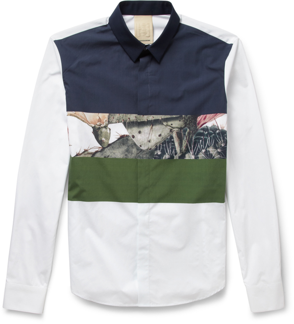 Wooyoungmi for MR PORTER shirt - 255 euros