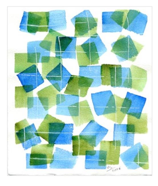 ZEUXIS ART - Aquarelle sur papier - 350€