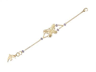 bracelet or-violette