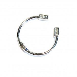 bracelet strass-argent- 18e