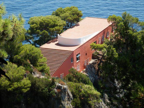 Casa Malaparte, Capri - Italie