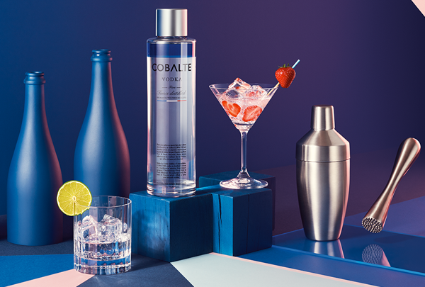 Cobalte Vodka : née à Reims