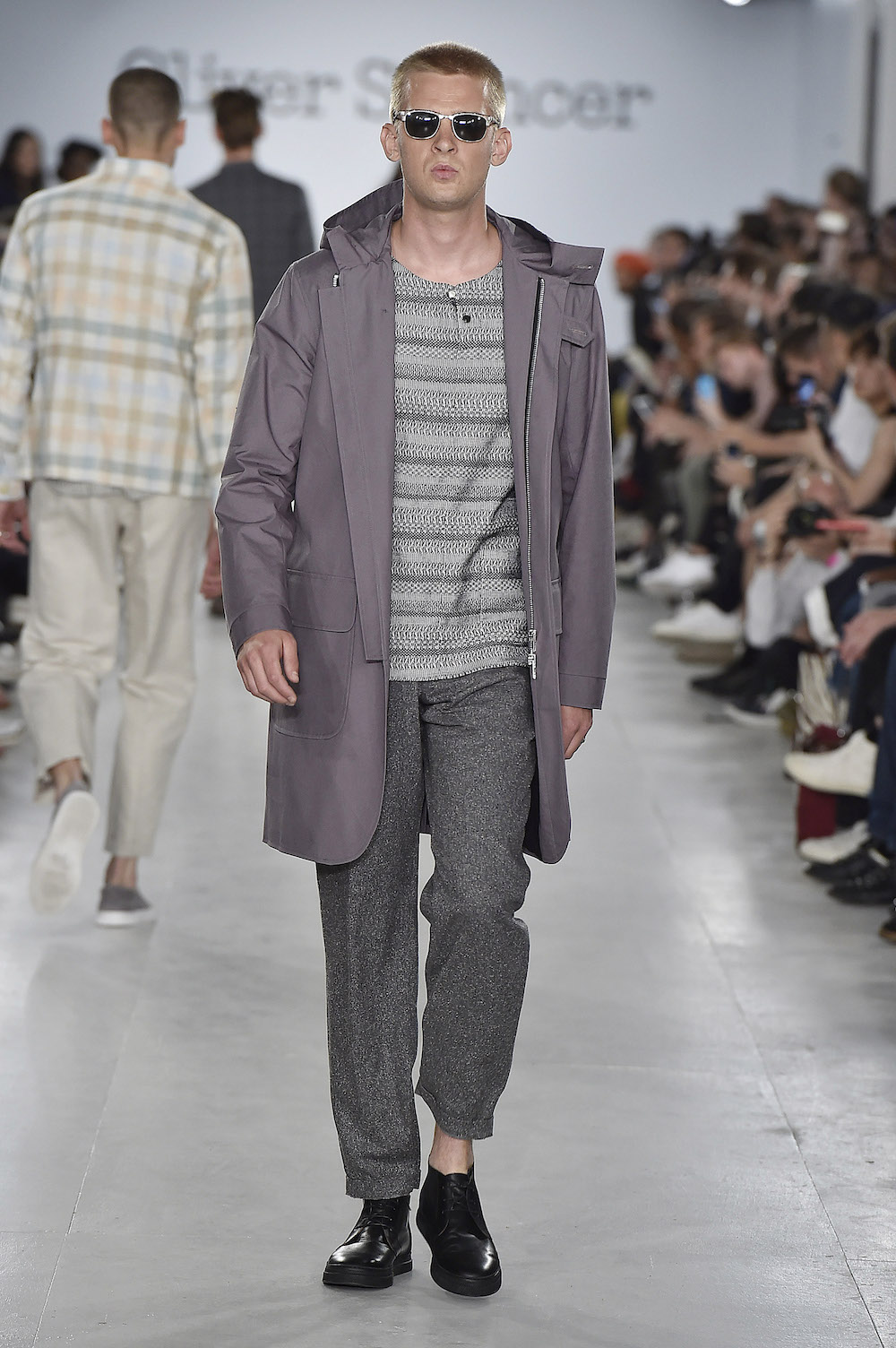 Défilé Oliver Spencer printemps-été 2017, Fashion Week Homme - Londres