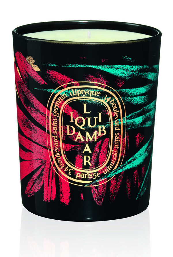 DIPTYQUE - Collection Hiver 2015 Bougie 190g  Liquidambar 58€