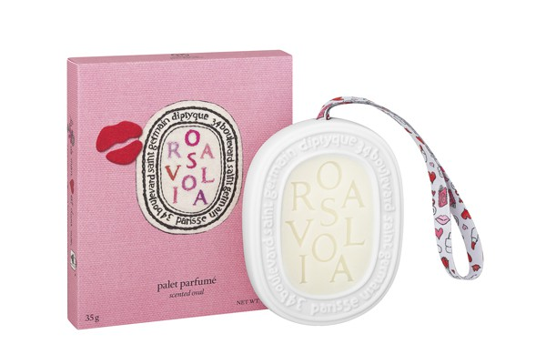 diptyque - Rosaviola 2016 - scented oval + pack
