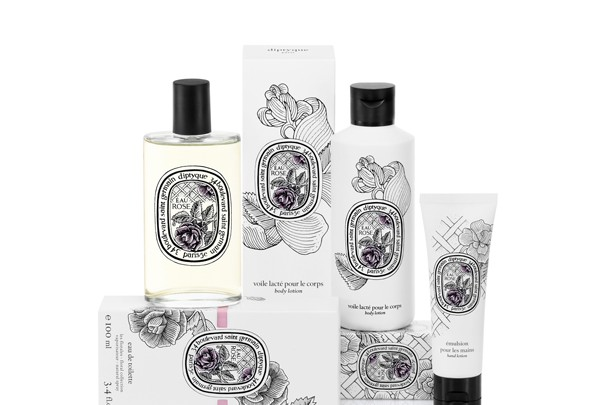 Collection Rose de diptyque