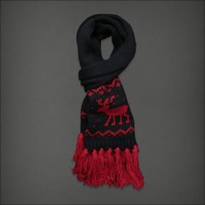 Echarpe en tricot à franges Heritage Knit - Abercrombie & Fitch