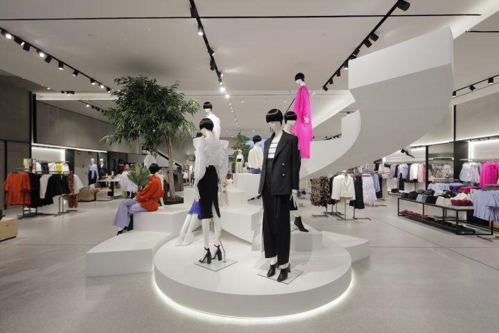 Nouveau flagship store Mango à Madrid