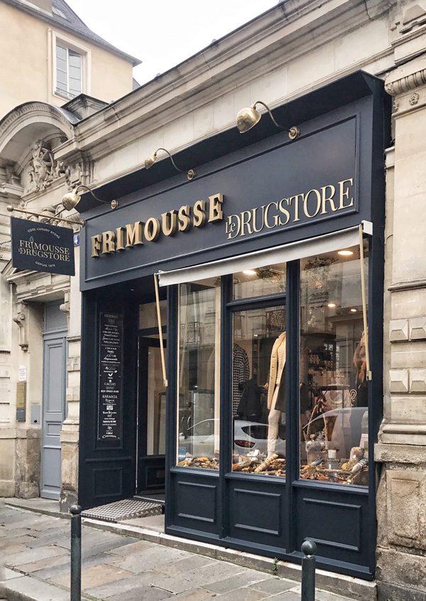 La façade de la boutique à Rennes