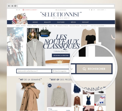 Selectionnist révolutionne le shopping sur magazines papier