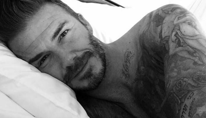 Amstramgram, Beckham débarque sur Instagram