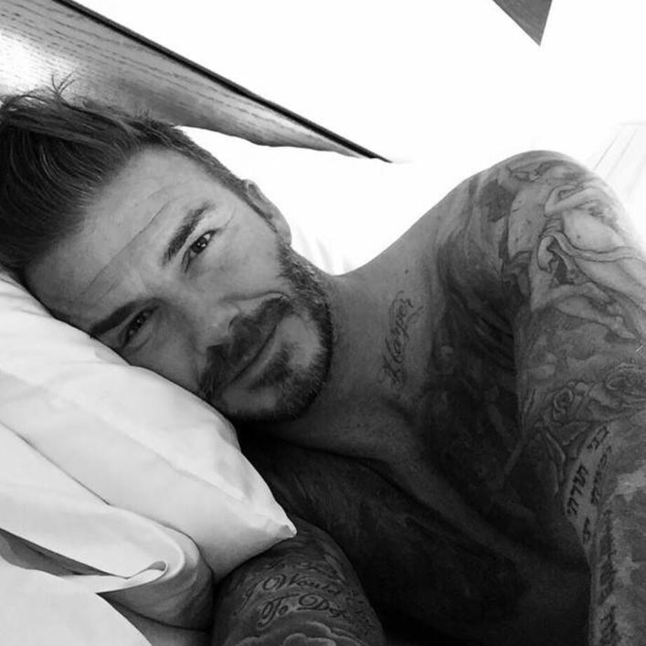 Compte de David Beckham sur Instagram