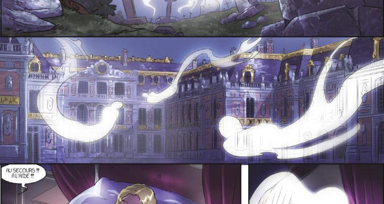 EXPO - Le Château de Versailles dans la BD
