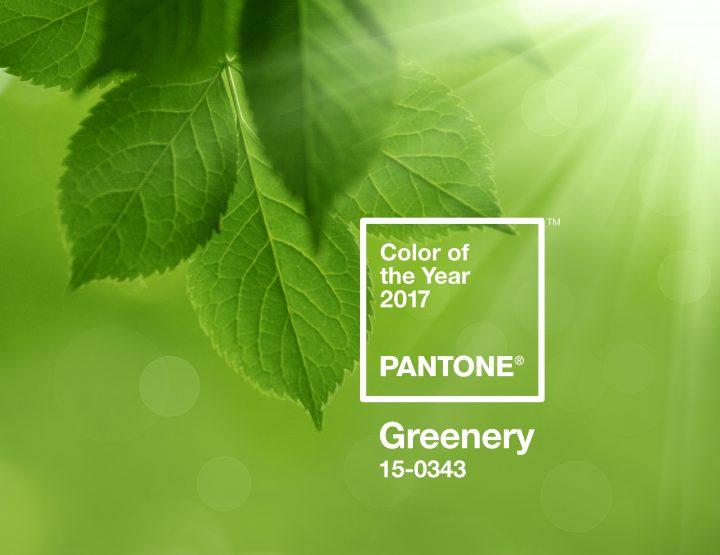 Pantone voit 2017 en vert