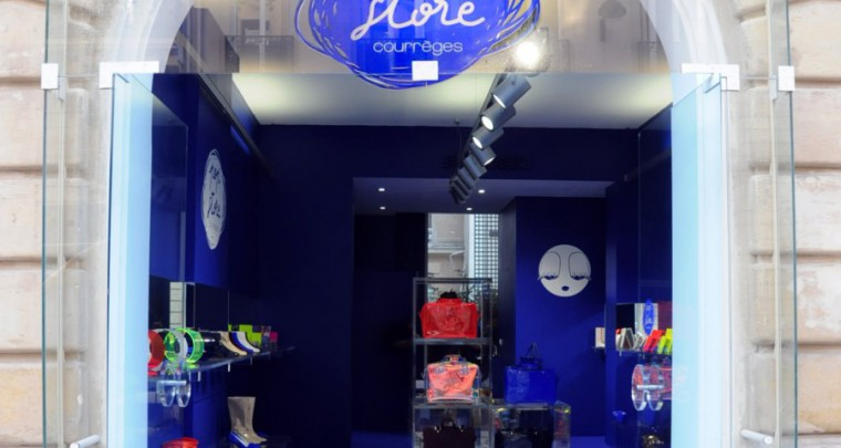Pop'Store Courrèges, la bulle shopping