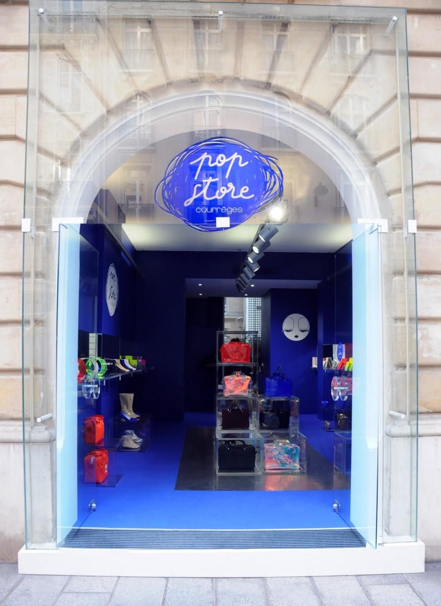Pop'Store Courrèges (vue extérieure)