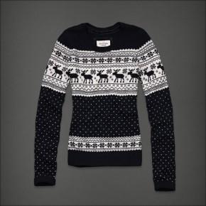 Pull à motifs norvégiens - Abercrombie & Fitch