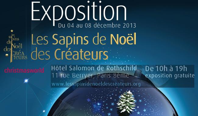 18ème ÉDITION DES SAPINS DE NOËL DES CRÉATEURS