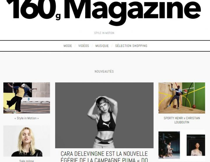 Coup de cœur pour 160g Magazine