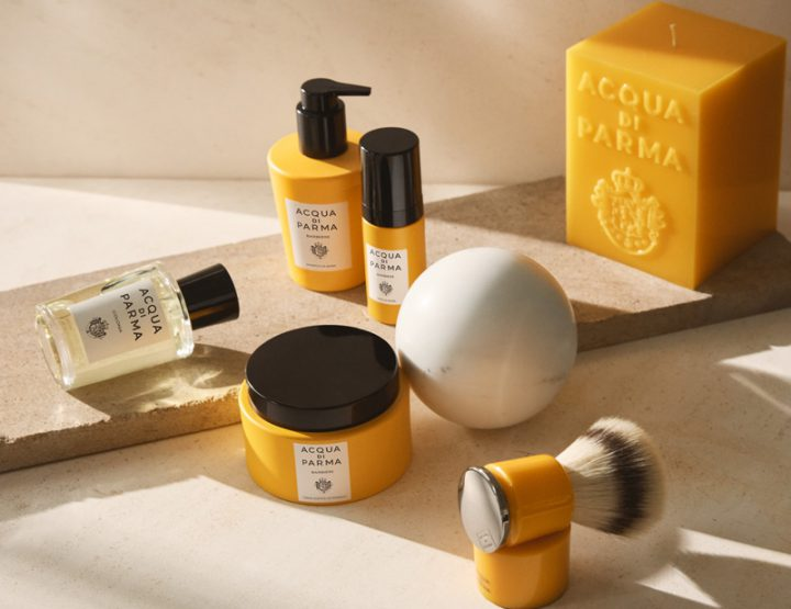 La collection Barbiere d'Acqua Di Parma