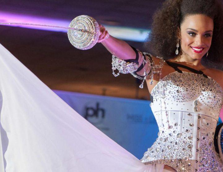 Alicia Aylies - Miss France 2017 : Son look signé On Aura Tout Vu à l'élection Miss Univers