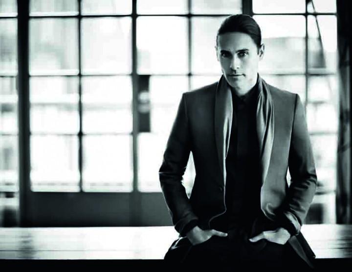 Jared Leto pose pour Mr Porter.com
