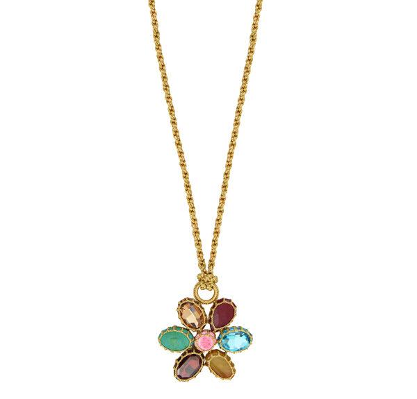 BOKS & BAUM - Collier pendentif fleur Daisy - 465€