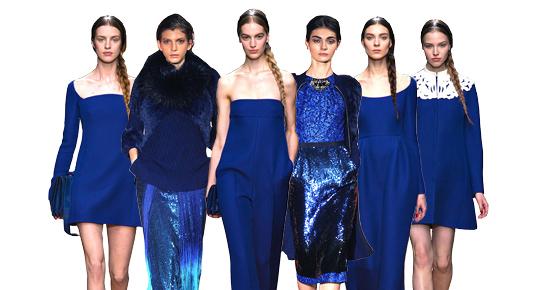 Le bleu vu par Stylebop.com