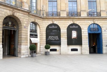 Jaeger-LeCoultre, Place Vendôme, refait son écrin... pour le shopping direction 269, rue St-Honoré