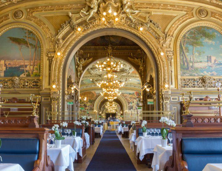 L'excellence de la cuisine de Buffet de Gare au Train Bleu