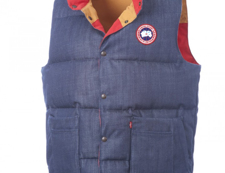 on aime Canada Goose x Levi Strauss