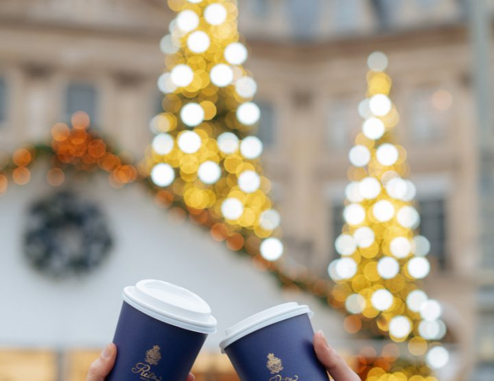 Un chalet de Noël place Vendôme