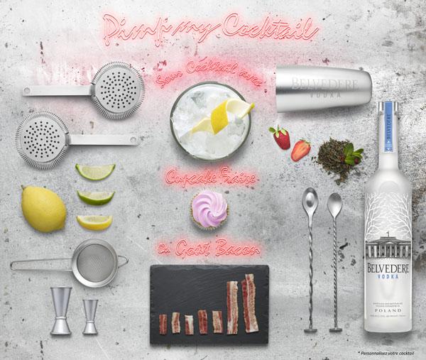 Ma semaine de cocktails Belvedere Vodka