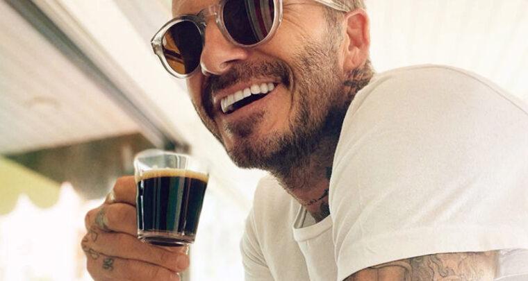 Les beaux yeux de David Beckham