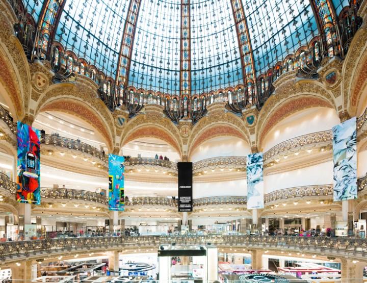 Diesel transforme les Galeries Lafayette en galerie d'art