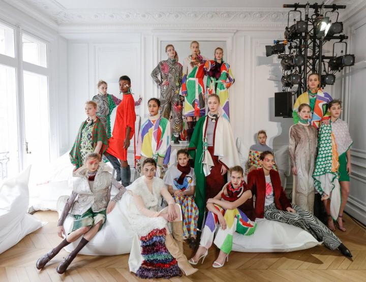 Défilé Liselore Frowijn collection automne-hiver 2016-2017 #PFW