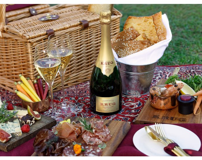 le picnic chic de Krug à One&Only Wolgan Valley