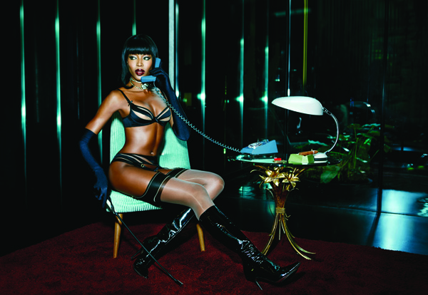 Agent Provocateur s'offre Naomi Campbell