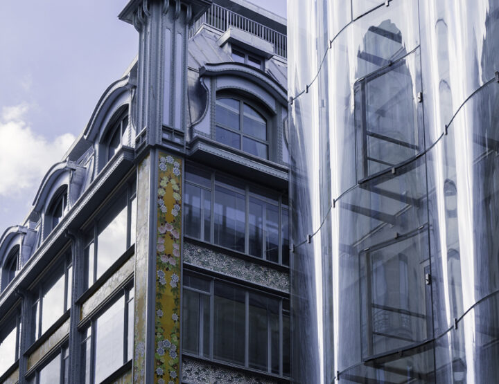 L'architecture de la Samaritaine