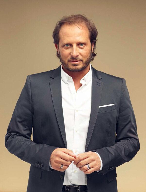 Le parfumeur Fabrice Pellegrin, un des habitués
