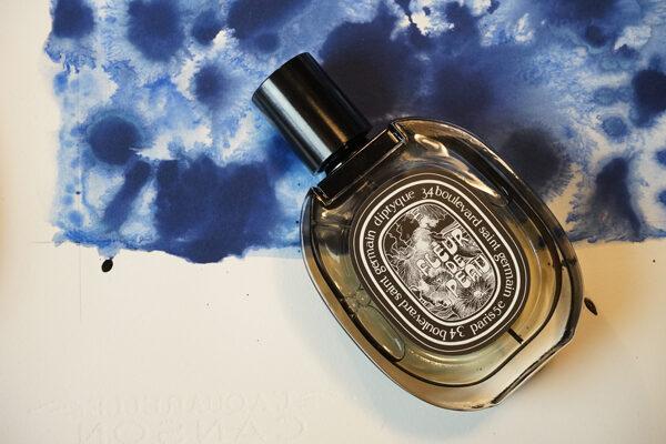 Collaboration avec  le dessinateur Dimitri Rybaltchenko pour le parfum Fleur de Peau