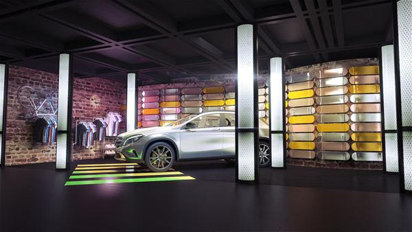 Mercedes-Benz Pop-up Store à partir du 11 mars