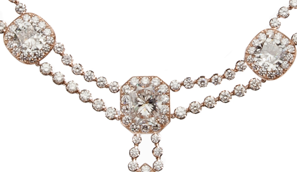 Haute Joaillerie - Le collier Antique de H.Stern